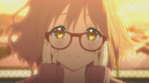 source: Kyoukai no kanata OVA