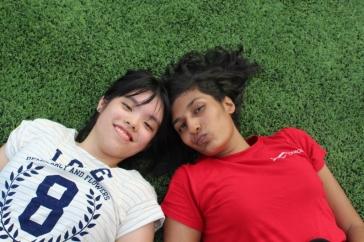 Michelle and Malar